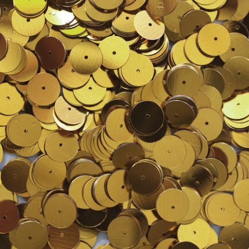 10mm Sequins Gold Metallic