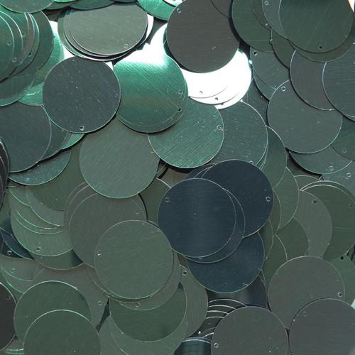 "1"" Sequins Forest Green Metallic"
