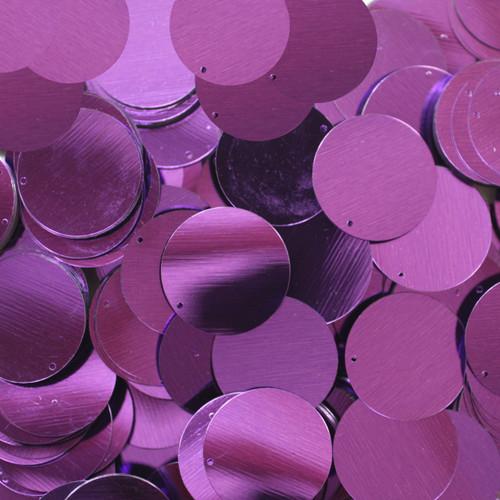 """1"""" Sequins Deep Purple Metallic"""