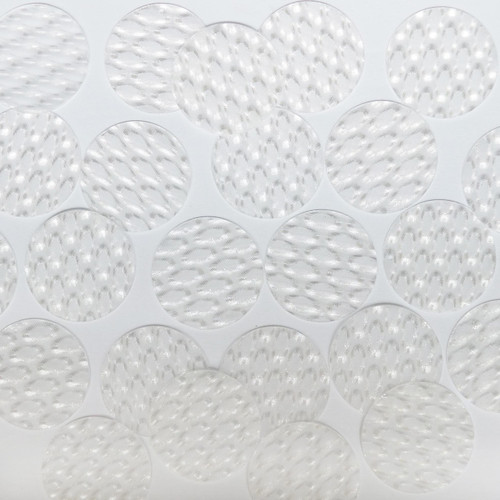 30mm Sequins Crystal White 3D Dimensional Reflector