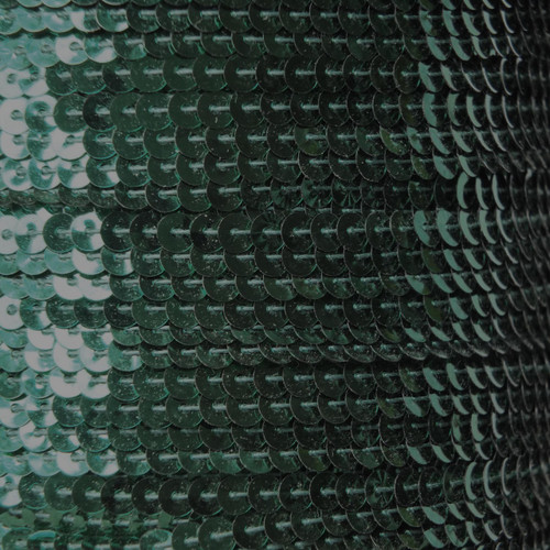 Sequin Trim 4mm Forest Green Metallic