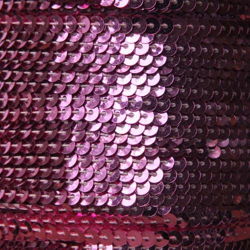 Sequin Trim 4mm Candy Pink Metallic
