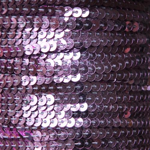 Sequin Trim 4mm Lavender Lilac Metallic
