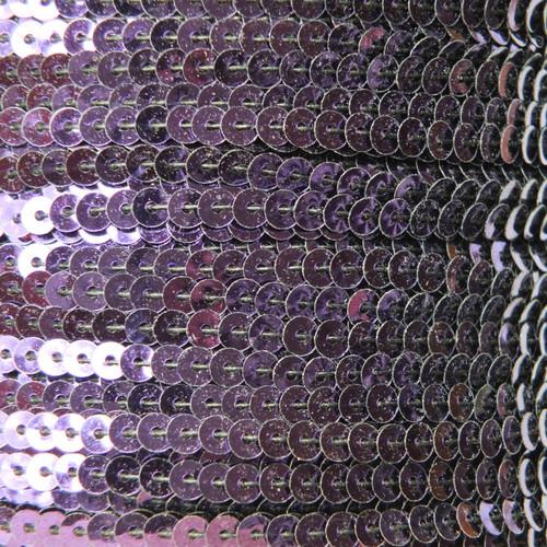 Sequin Trim 4mm Deep Purple Metallic