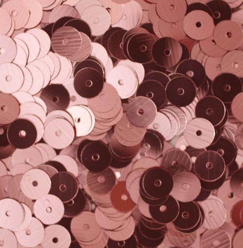 6mm Sequins Pink Metallic
