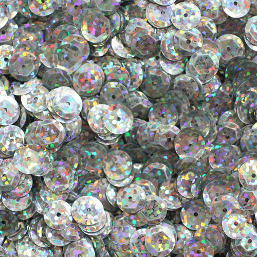 8mm Cup Sequins Ultra Prism Hologram Glitter Sparkle Metallic