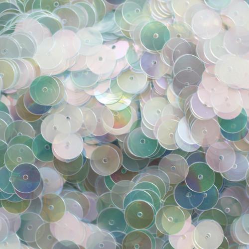 8mm Sequins Crystal Rainbow Iris Iridescent Cool Hue