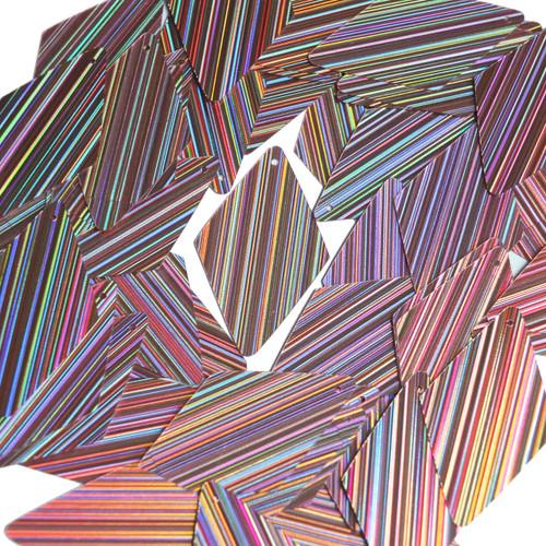 "Long Diamond Sequin 1.75"" Lavender Lilac City Lights Metallic Reflective"