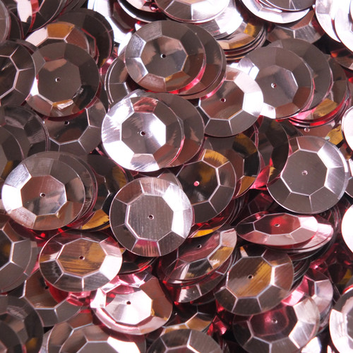 20mm Cup Sequins Pink Metallic