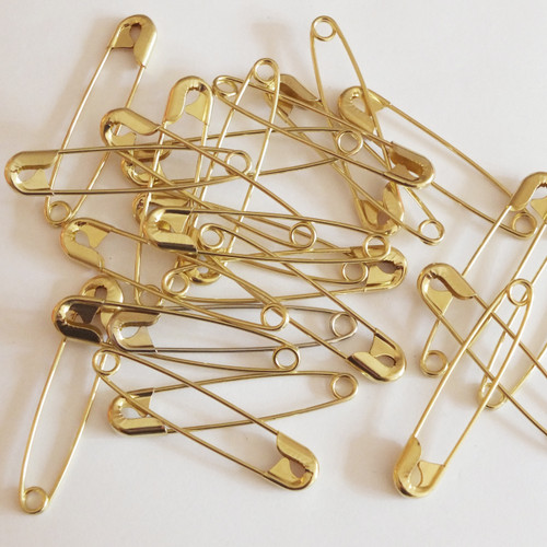 "2"" safety pins Made in USA"
