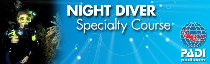PADI PADI Night Diver Specialty