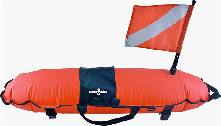 ScubaMax Dive Flag Torpedo Float