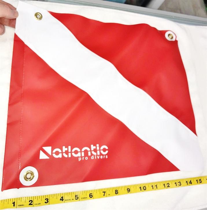 Vinyl Scuba Dive Flag For Tow Float 14 x 16 Inches