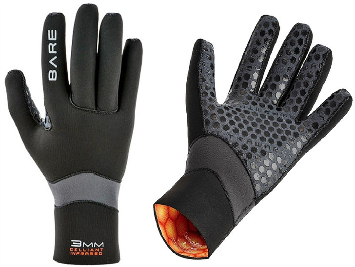 Bare 3mm UltraWarmth Celliant Gloves