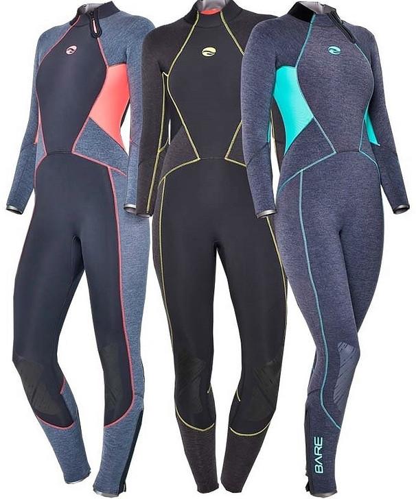 Bare 3mm Evoke Women's Full Wetsuit