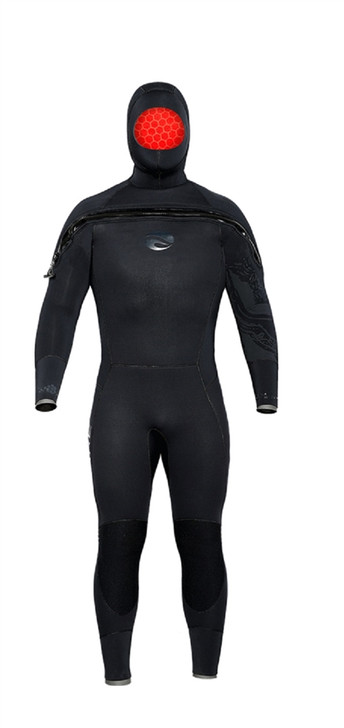 Bare 8/7 Velocity Ultra Semi-Dry Hooded Suit