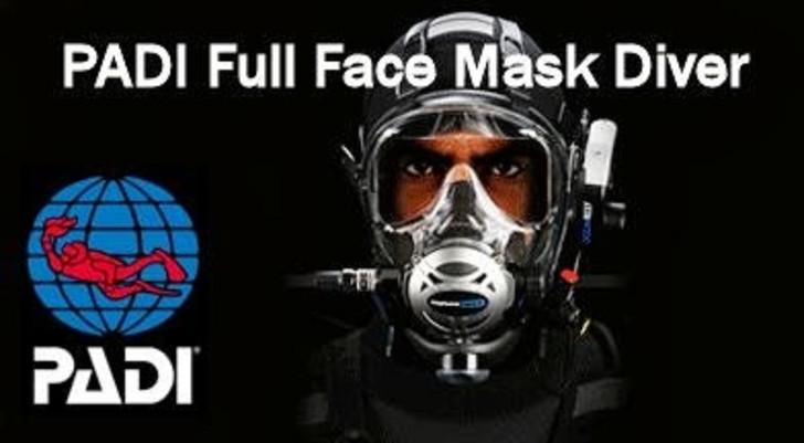 PADI Full Face Mask Specialty