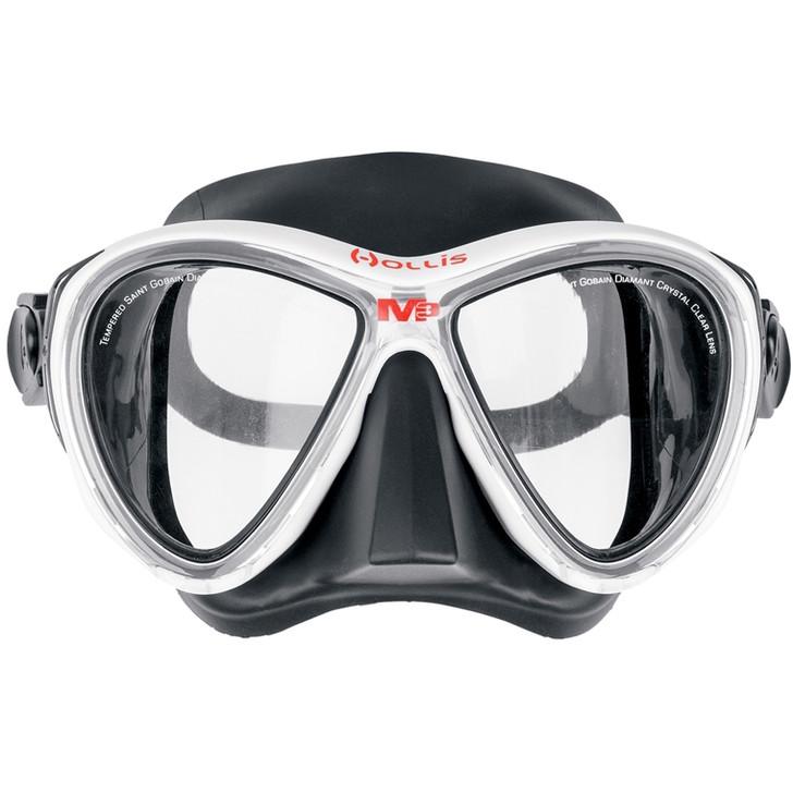 Hollis M3 Dive Mask - White