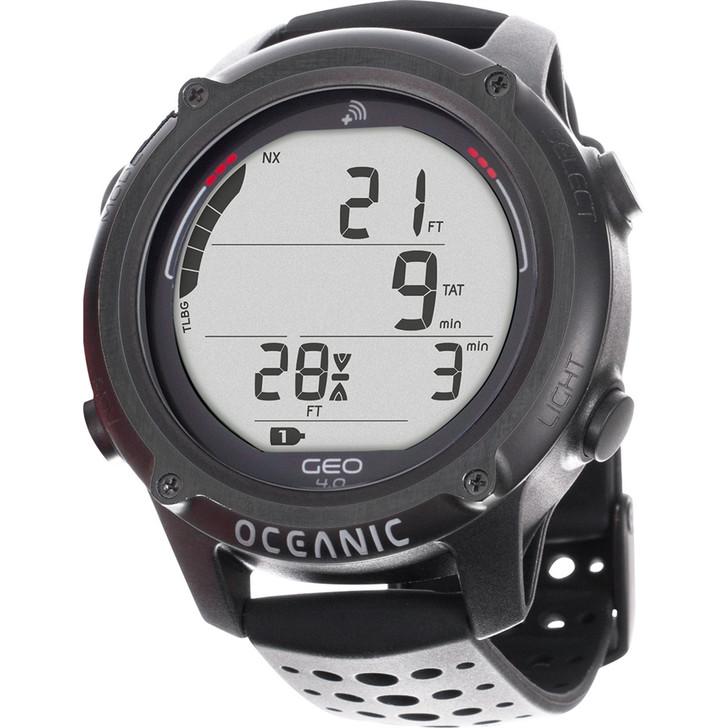 Oceanic GEO 4.0 Wrist Dive Computer - Black
