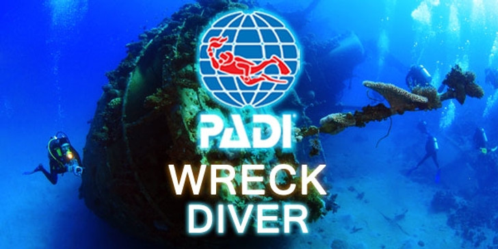 PADI Wreck Diver Specialty Course