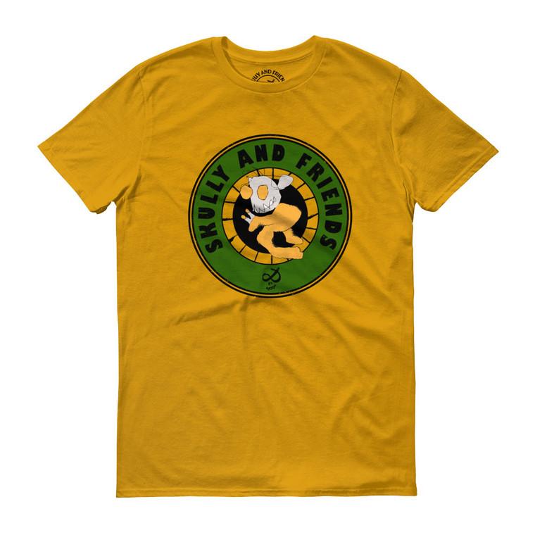 WEIRDO POWER, Yellow T-shirt | Skully & friends