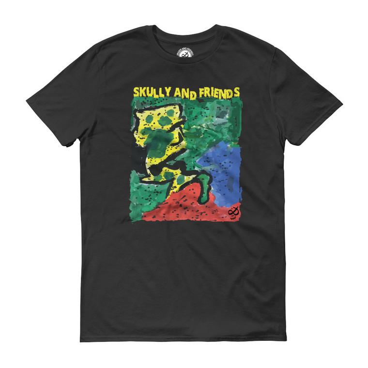 JUNGLE, Black T-shirt | Skully & friends