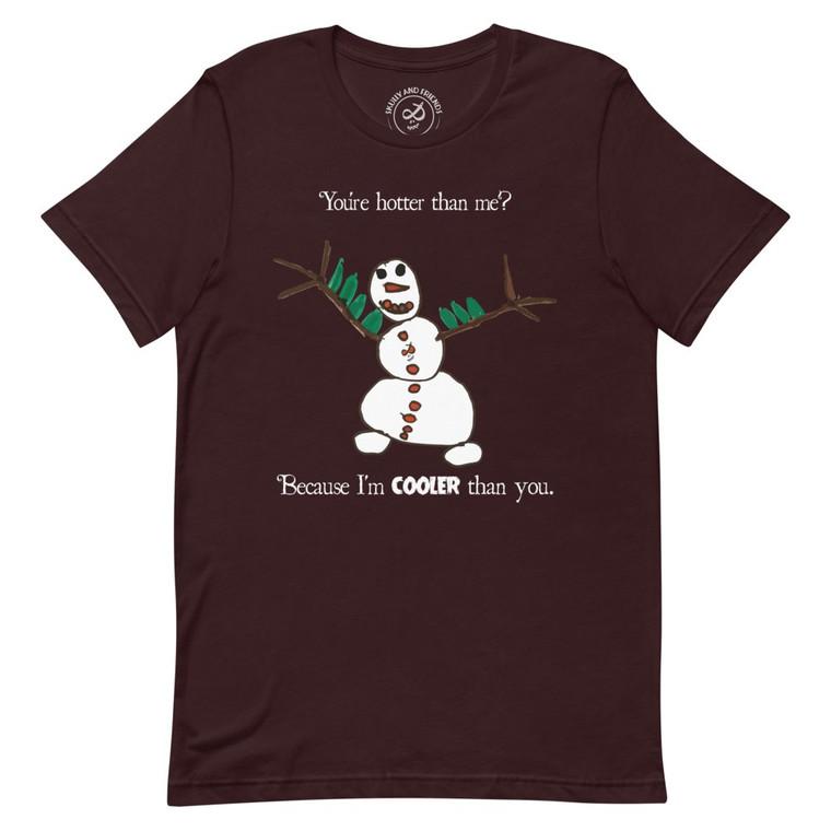 COOLER, Maroon T-shirt | Skully & friends