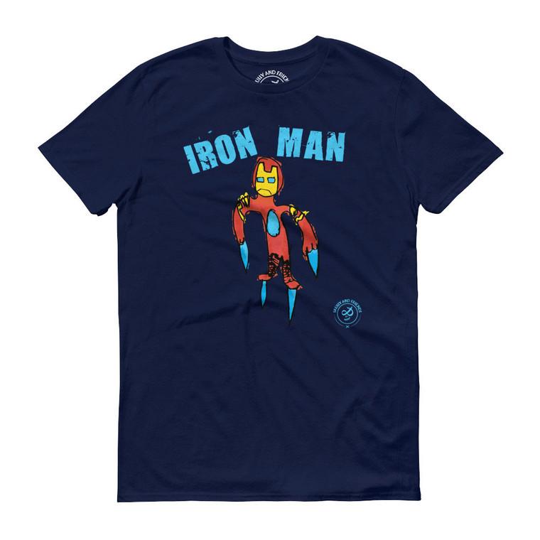 IRON MAN, Blue T-shirt | Skully & friends