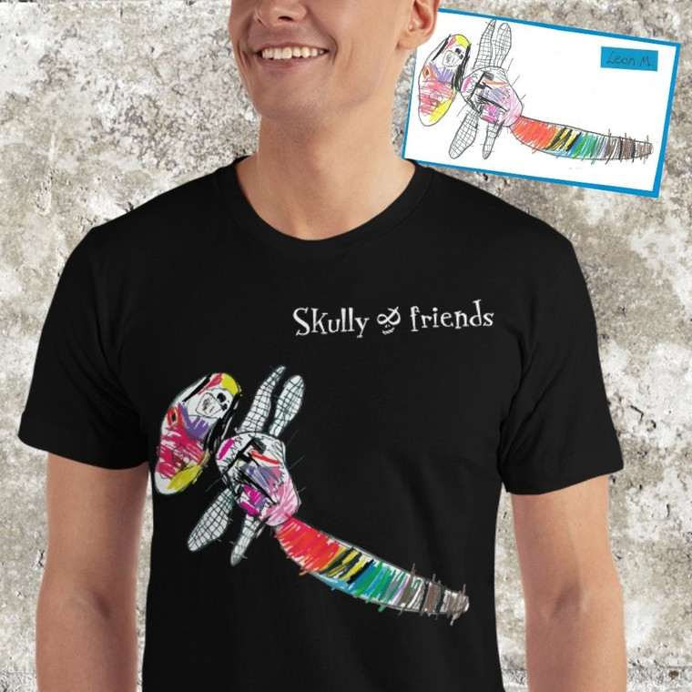 Personalized T-shirt, personalized gifts, men | Skully & friends
