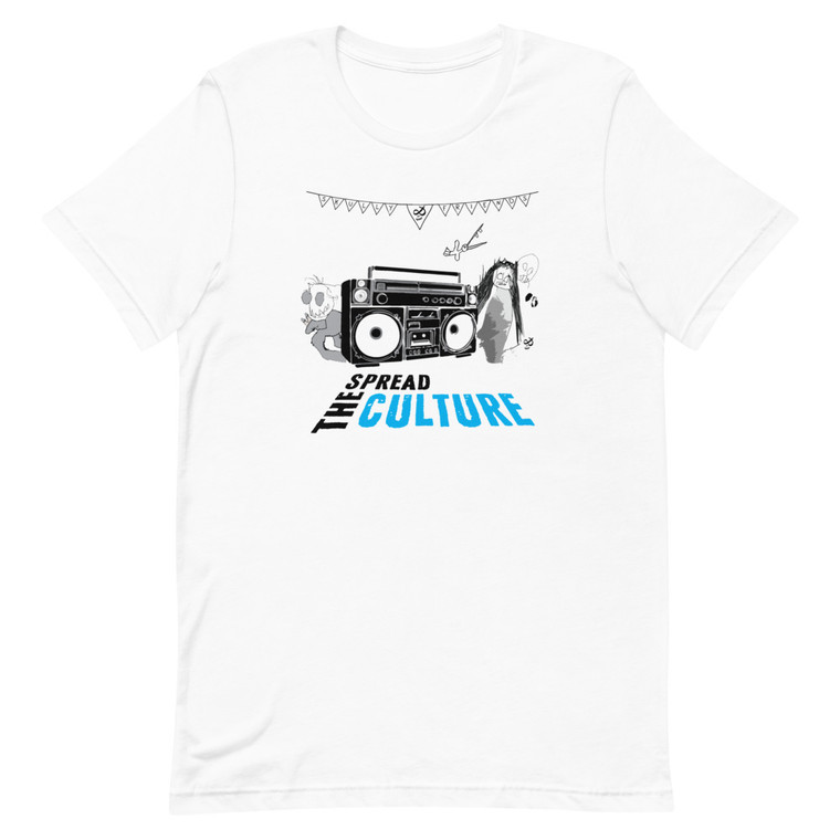 Spread The Culture Crew White T-shirt