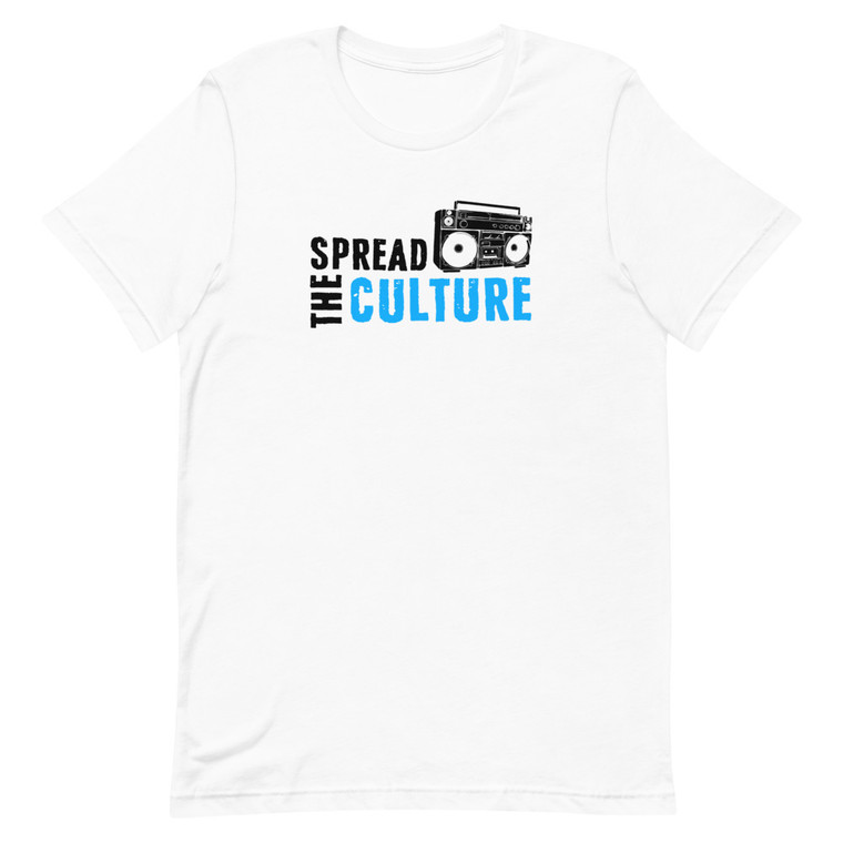 Spread The Culture Logo White T-shirt