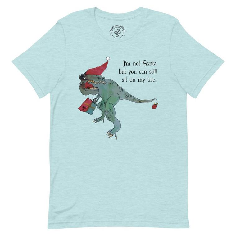 CHRISTMAS REX,  Mint T-shirt | Skully & friends