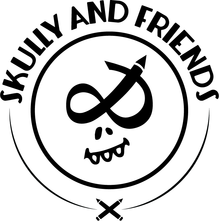 Skully & friends logo