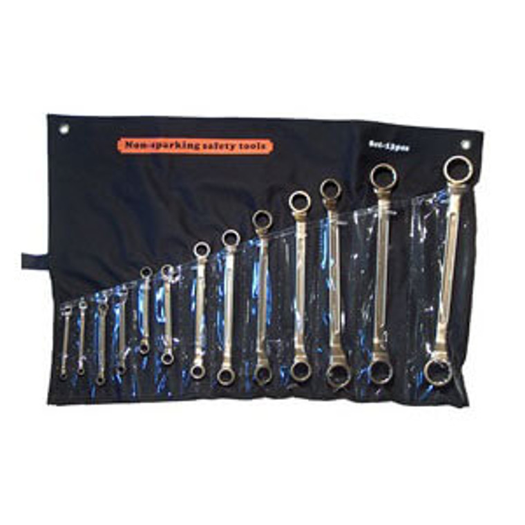 Double Box Offset Wrench Set 13pc