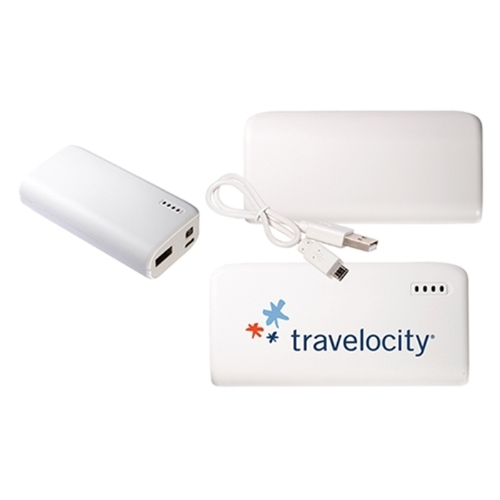 Pocket Mobile Charger - White