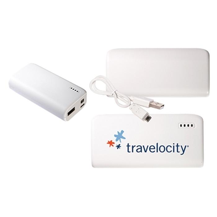 Pocket Mobile Charger - White