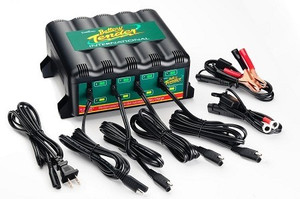 4 BANK BATTERY CHARGER