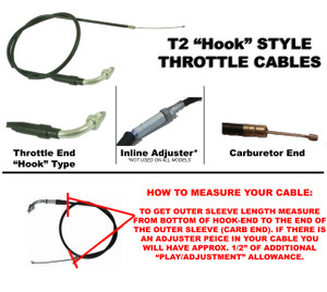 THROTTLE CABLE (CCB665)