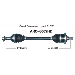 ARCTIC HD REAR L/R 400/450/500/550/650/700/1000
