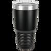 Stainless Steel Tumbler 30 oz Black