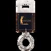 Black Bottle Opener Keychain with Custom Laser Engraving