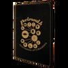 Black/Gold Leatherette Portfolio w/ Zipper with Custom Laser Engraving