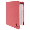 Pink Leatherette Portfolio w/ Zipper with Custom Laser Engraving