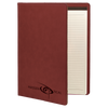 Rose Leatherette Small Portfolio with Custom Laser Engraving