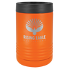 Insulated, Beverage Holder, Stainless Steel, double-walled, 12 ounce, 16 ounce, screw on lid, Orange