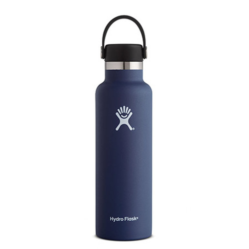 18 oz, Hydro Flask, Hydroflask, Cobalt Blue, Blue, Standard Mouth, Stainless Steel