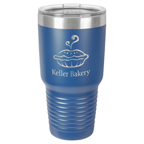 Stainless Steel Tumbler 30 oz Blue