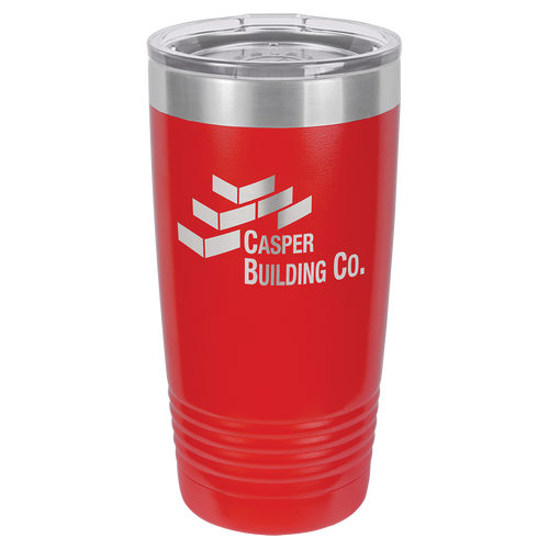 20oz Stainless Steel Tumbler Red