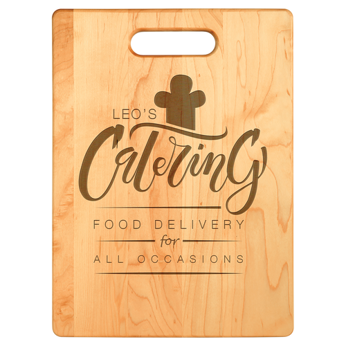 """Cutting Board Engraved Maple 13.75"""" x  9.75"""""""