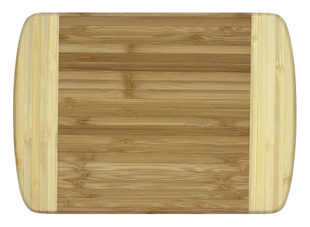 """Engraved Two-Tone Bamboo Cutting Board 10"""""""